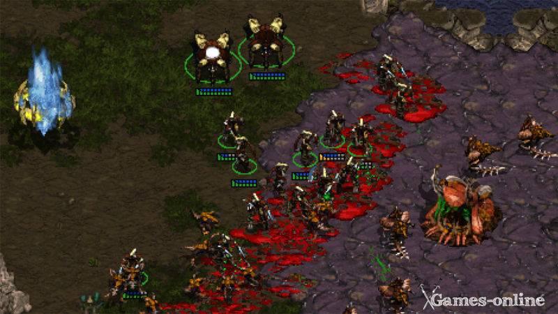 Игра для слабого ПК: StarCraft