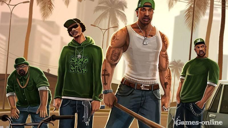 Игра для слабого ПК: Grand Theft Auto: San Andreas