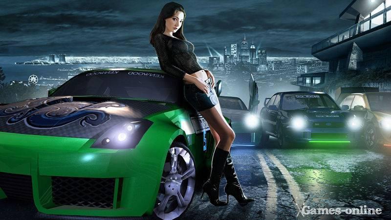 Игра для слабого ПК: Need For Speed: Underground 1, 2