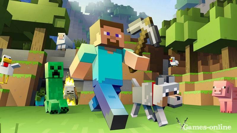 Игра для слабого ПК: Minecraft