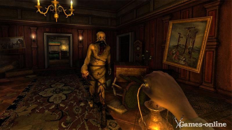 Игра для слабого ПК: Amnesia: The Dark Descent