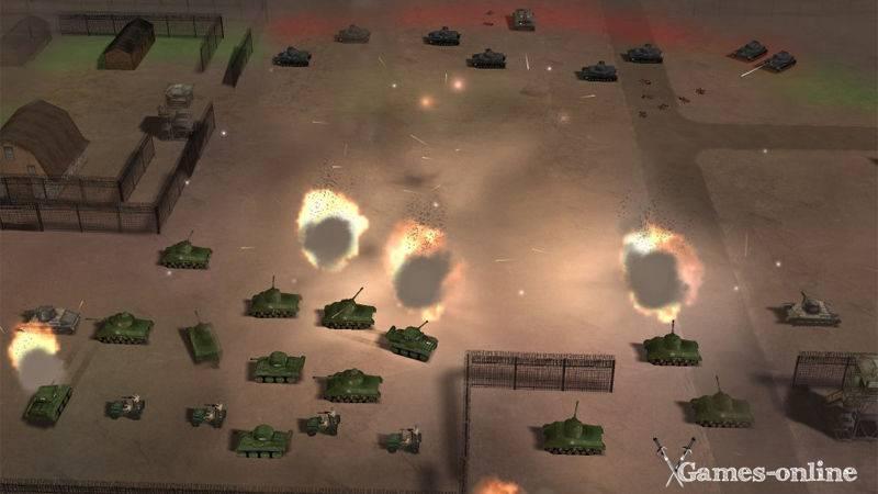 Игра для слабого ПК: World War 2 - Frontline Command