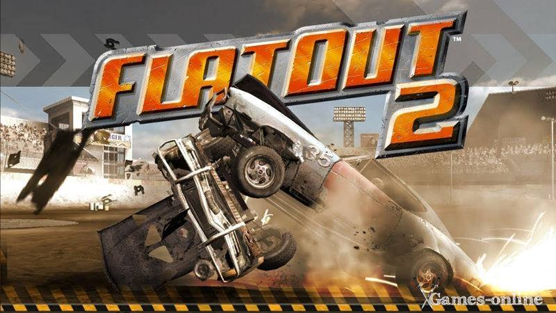 Игра для слабого ПК: FlatOut 2