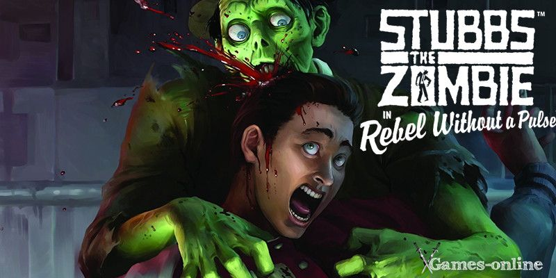 Stubbs the Zombie in Rebel Without a Pulse игра про зомби на ПК