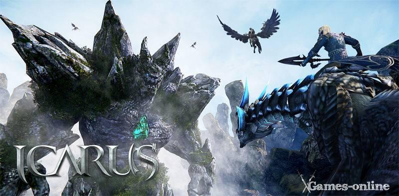 Icarus (Riders of Icarus) игра с клиентом