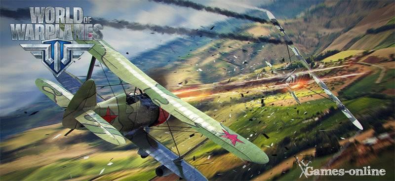 World of Warplanes игра про самолеты