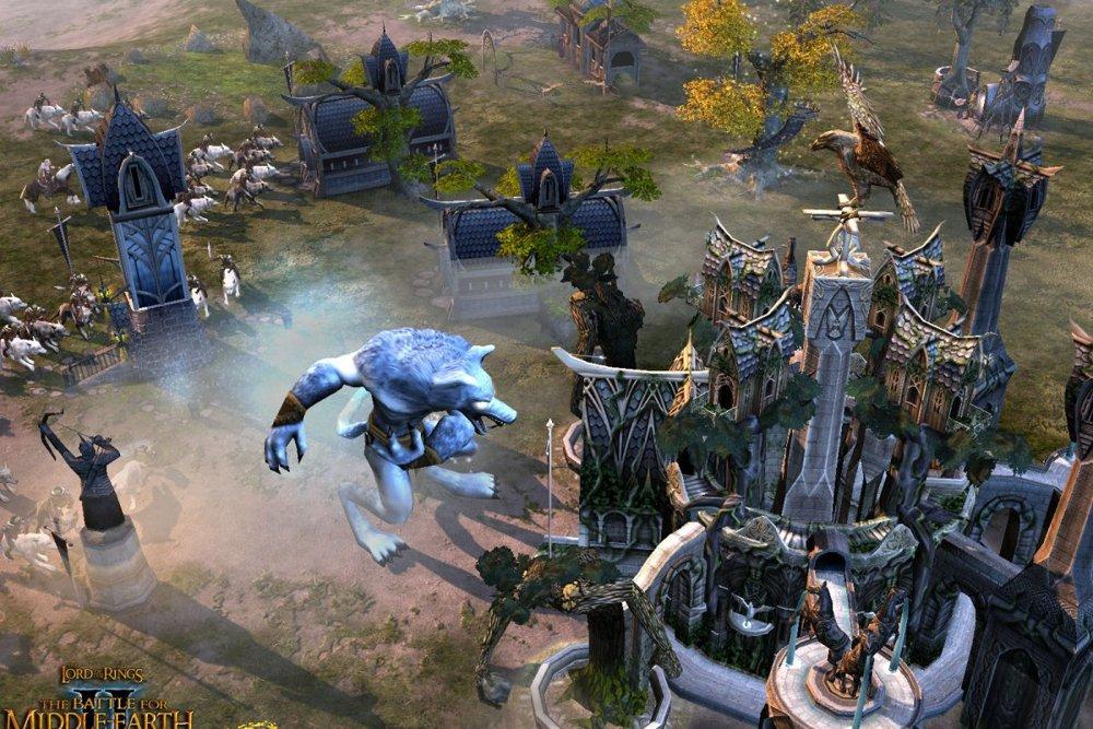 Лучшая стратегия на ПК в мире меча и магии - The Lord of the Rings: The Battle for Middle-earth