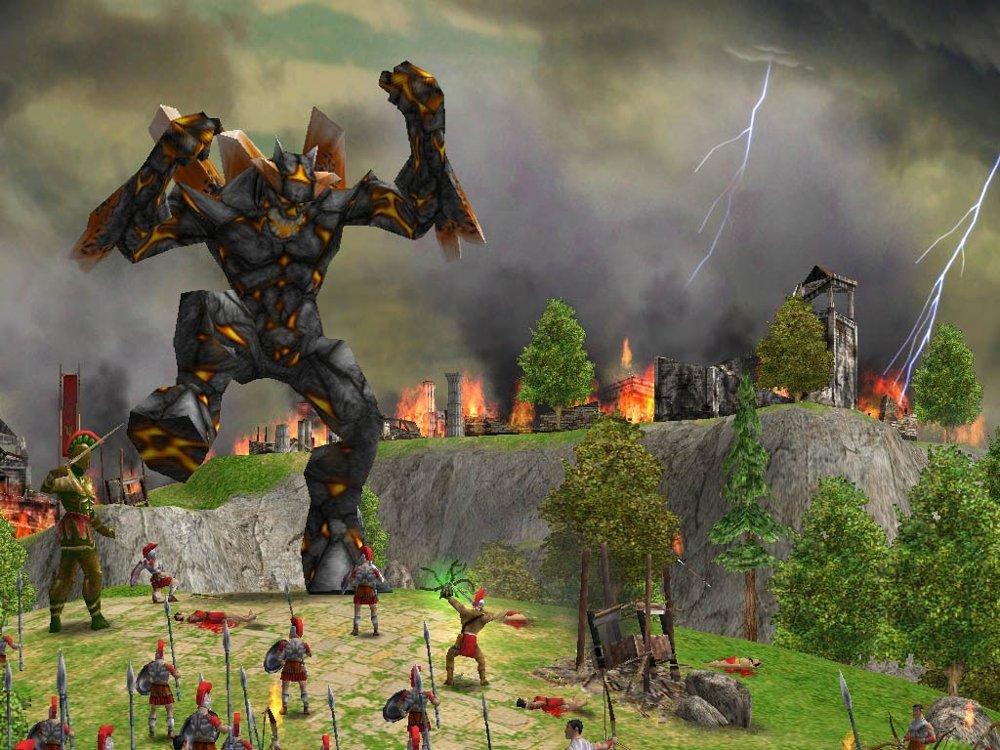 Лучшая стратегия на ПК в мире меча и магии - Age of Mythology: The Titans
