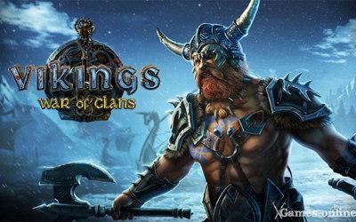 Vikings War of Clans играть через вк